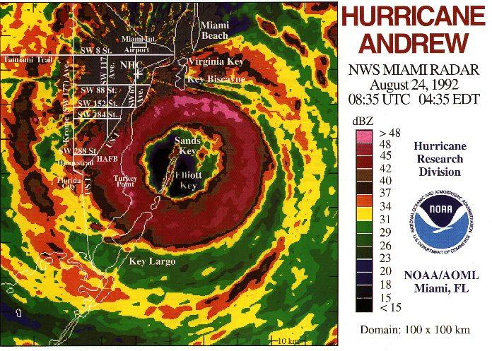 Hurricane Andrew Florida Historical Society