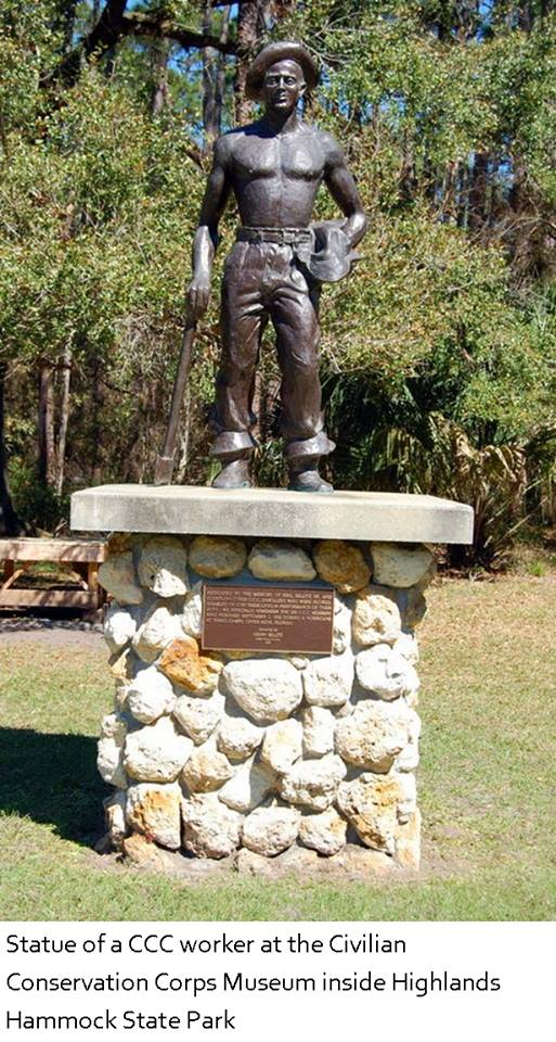 CCC workers statue
