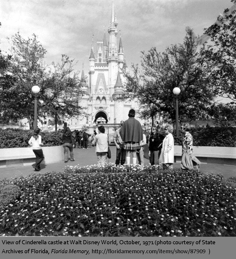 Walt Disney World was dedicated on October 25th 1971