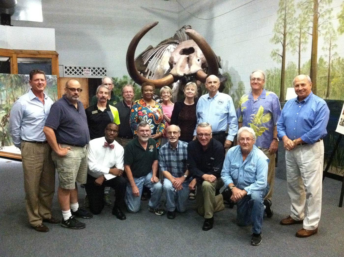 FHS Board of Directors at Brevard Museum
