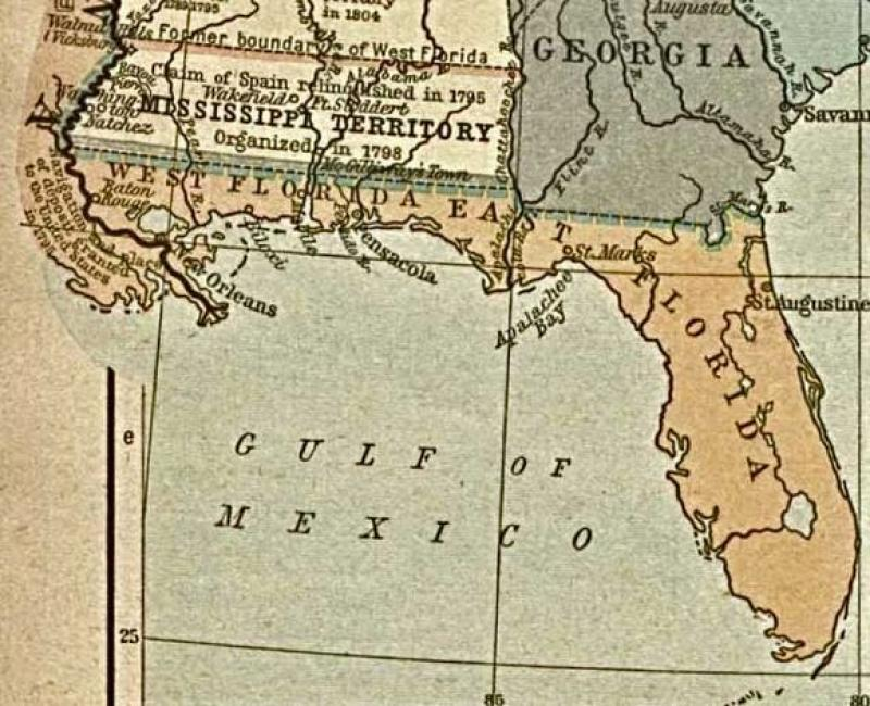 Show Me A Map Of The State Of Florida.Florida Frontiers Florida In The American Revolution Florida