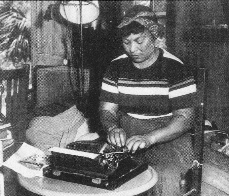 Florida Frontiers Zora Neale Hurston At The Rossetter House