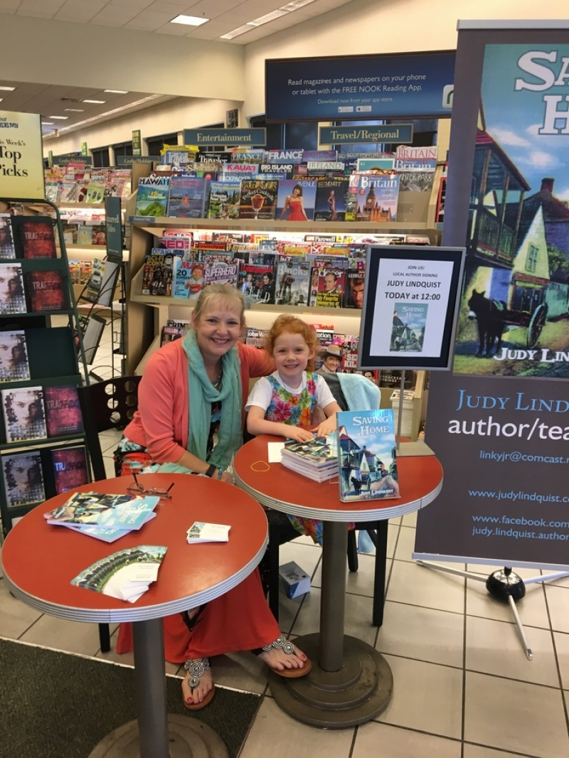 Judy Lindquist, book signing