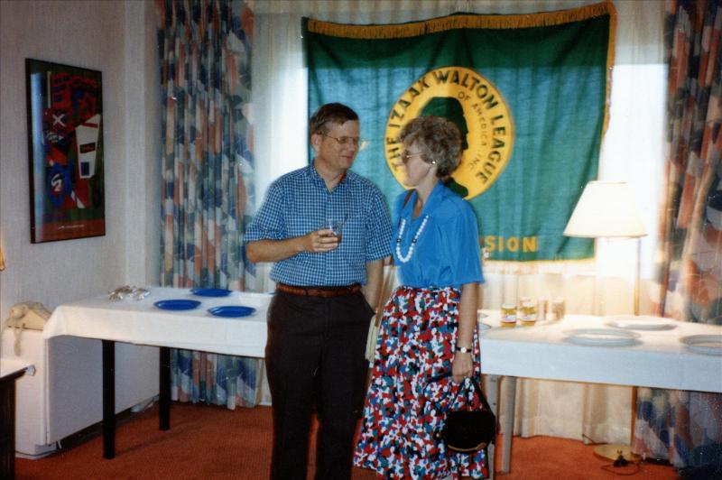 Sarah Whitmer Foster with husband John