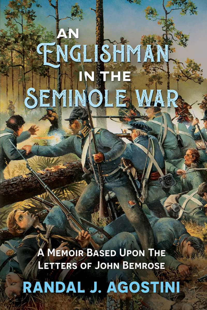 front cover of book; An Englishman in the Seminole War