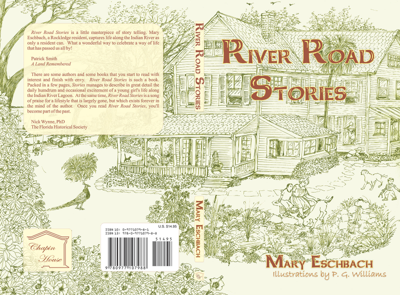 FrontSpineBack COVER: River Road Stories