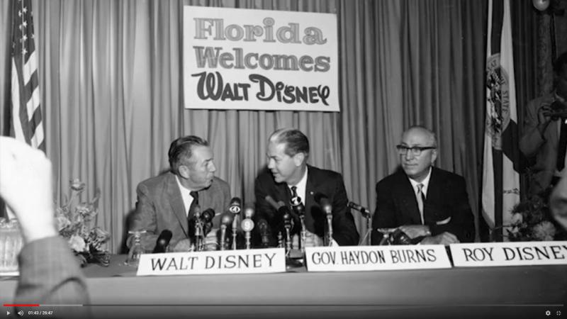 Florida Welcomes Walt Disney