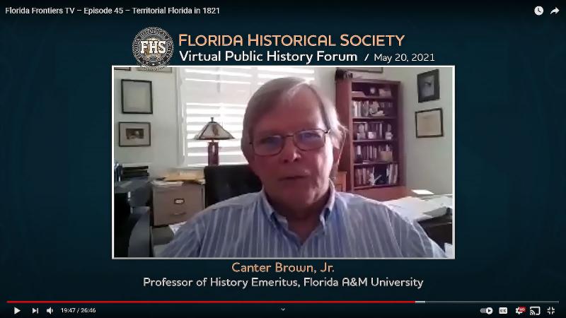 Canter Brown Jr, Professor of History Emeritus, Florida A&M University