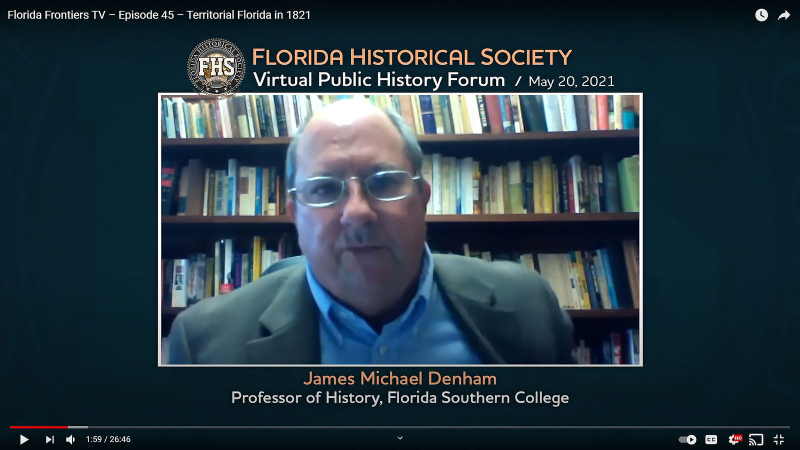 James Michael Denham, Professor of History, Florida Southern College