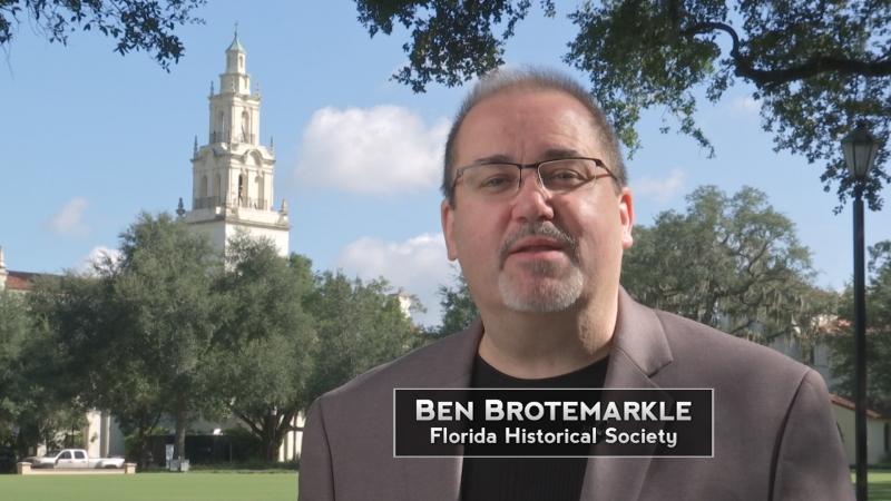 Dr. Ben Brotemarkle, Executive Director Florida Historical Society