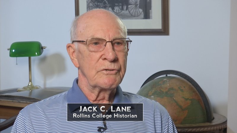 Jack C Lane, Rollins College Historian