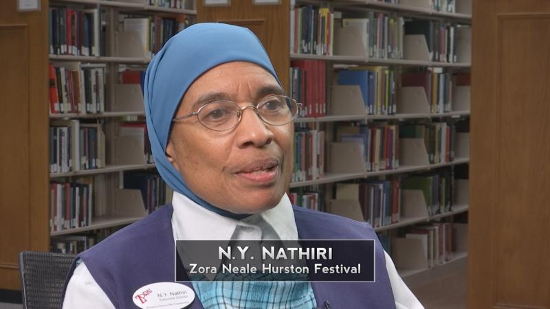 N. Y. Nathiri, Zora Neal Hurston Festival