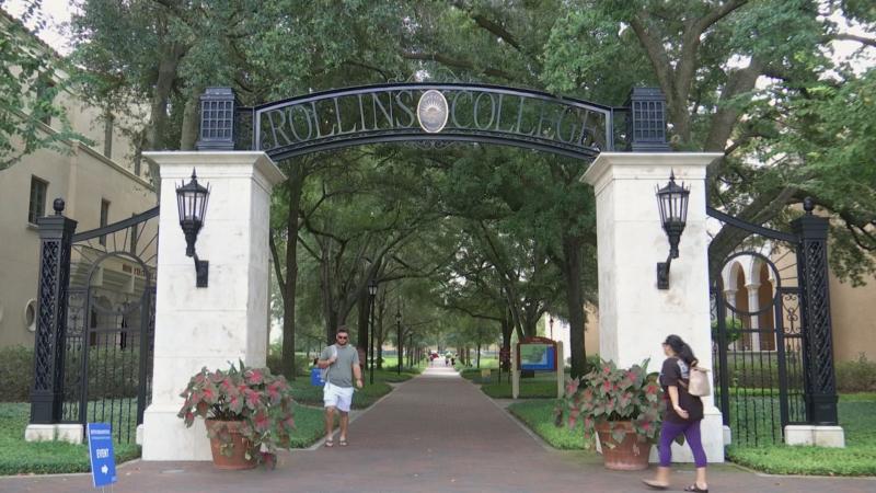 Rollins College Entrance