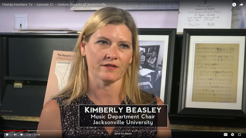 Kimberly Beasley, Music Department Chair, Jacksonville University