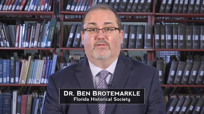 Dr. Ben Brotemarkle, Florida Historical Society Executive Director