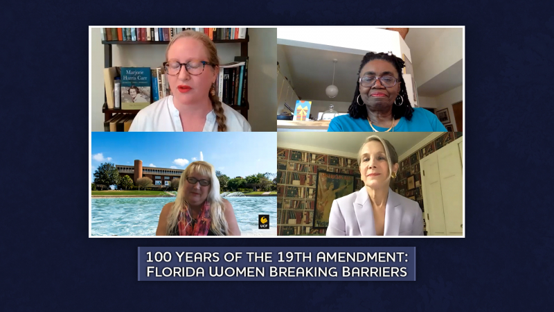 Panel: 100 years of the 19th Amendment: Florida Women Breaking Barriers