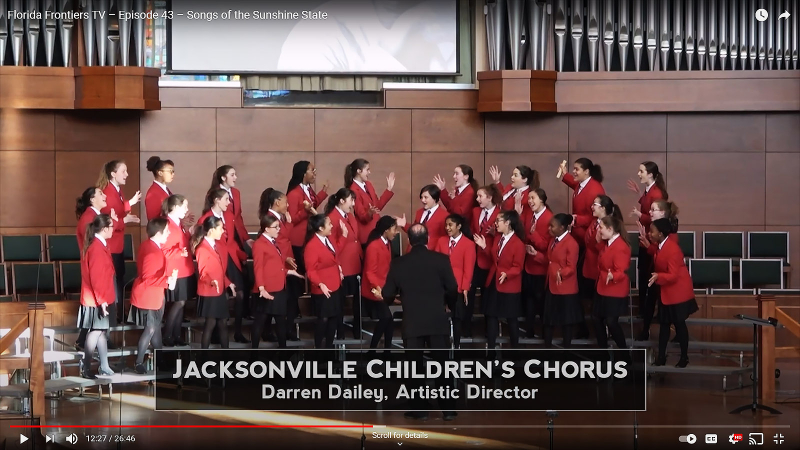 Jacksonville Children's Chorus, Darren Daily Artistic Director