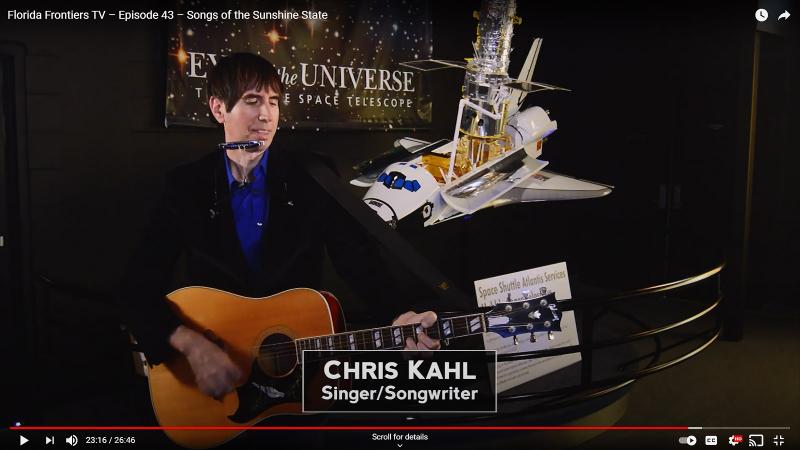 Chris Kahl, singer and songwriter