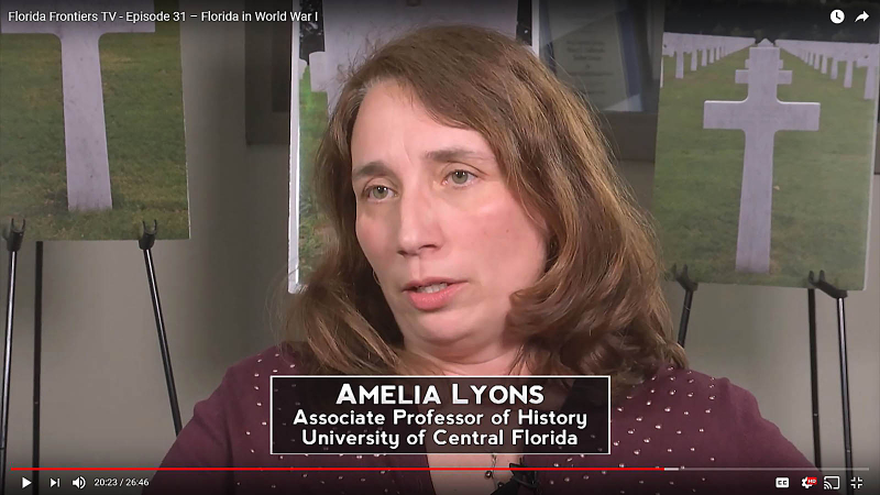 Amelia-Lyons, Associate Professor of History, University of Central Florida