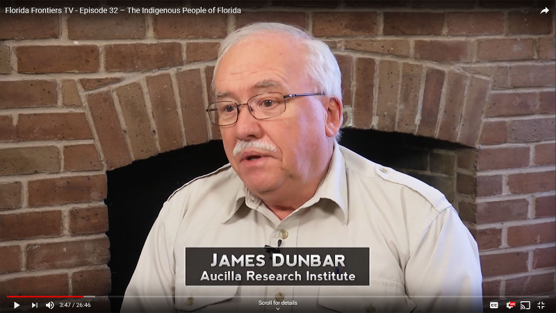 FFTV32,  James Dunbar, Aucilla Research Institute