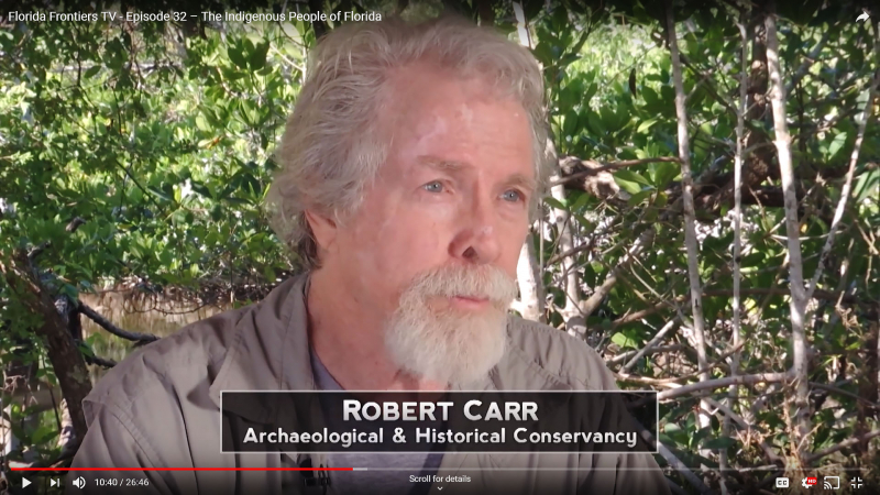 FFTV32, Robert-Carr, Archaeological and Historical Conservancy