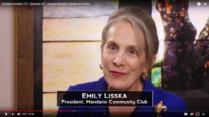 Emily Lisska, President, Mandarin community Club