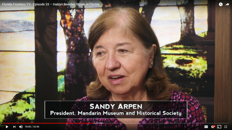 Sandy Arpen - President, Madarin Museum and Historical Society
