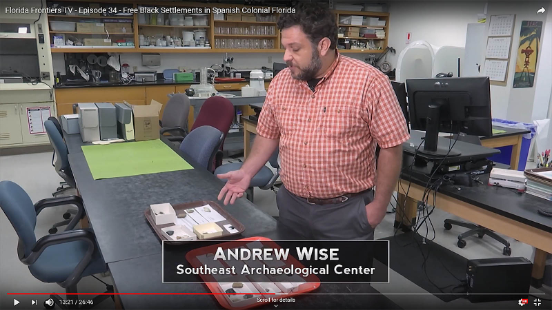 Andrew Wise, Southeast Archaeological Center