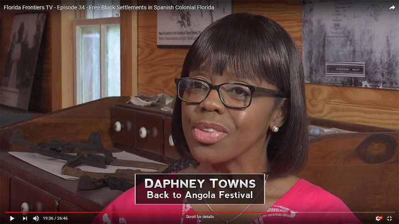Daphney Towns, Back to Angola Festival