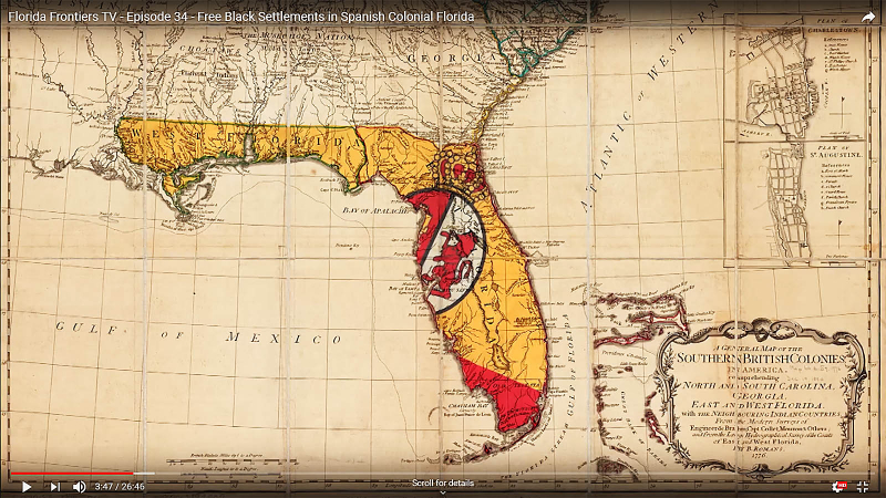 Map Southern British Colonies