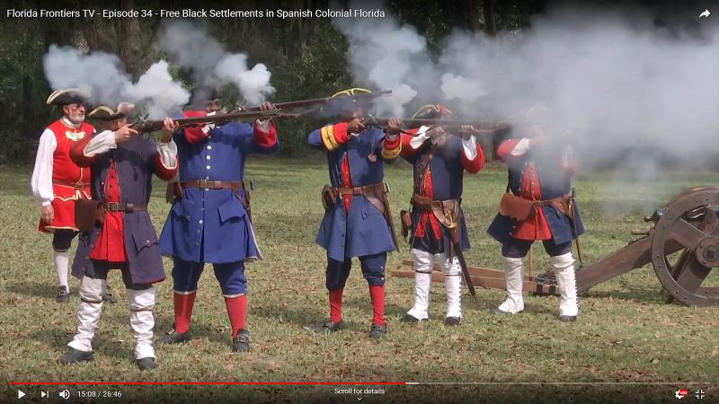 Militia Reenactment Fort Mose