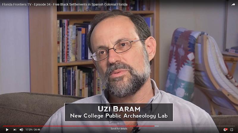 Uzi Baram, New College Public Archaeology Lab