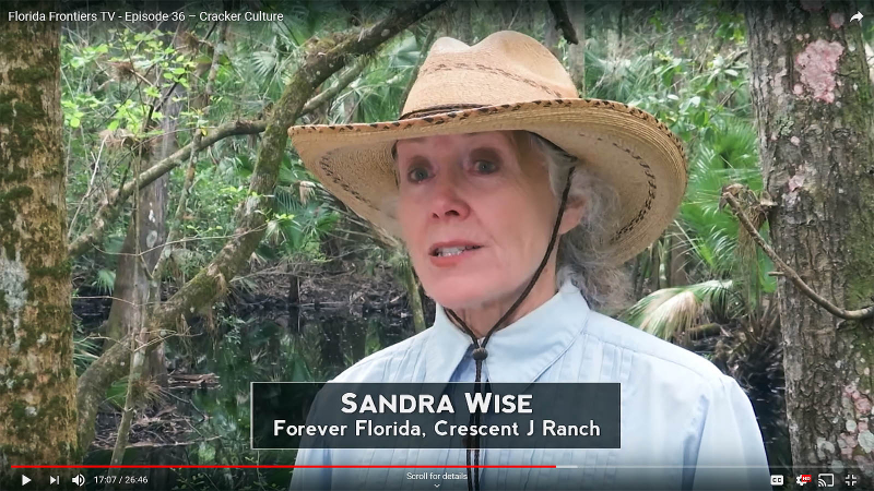 Sandra Wise, Forever Florida, Crescent J Ranch