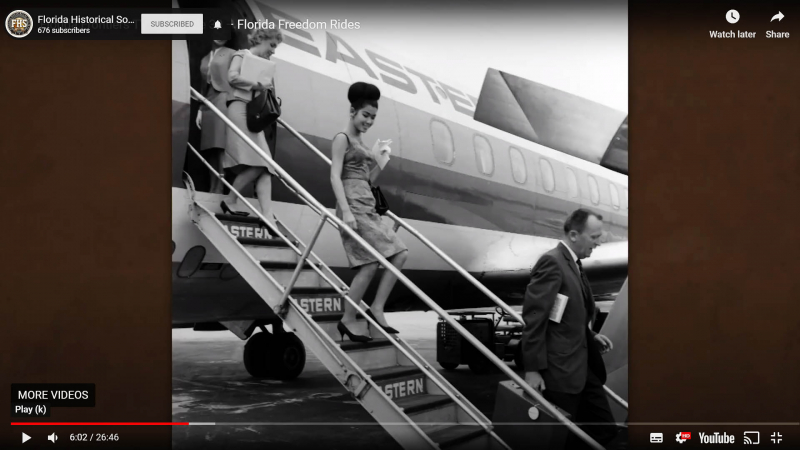 Freedom Riders on planes