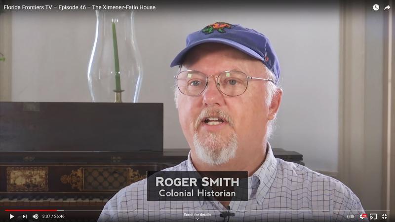 Roger Smith, Colonial Historian