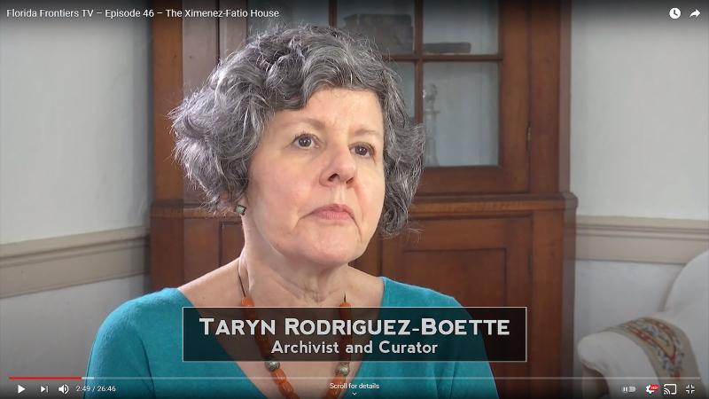 Taryn Rodruqyez-Boette, Archivist and Curator
